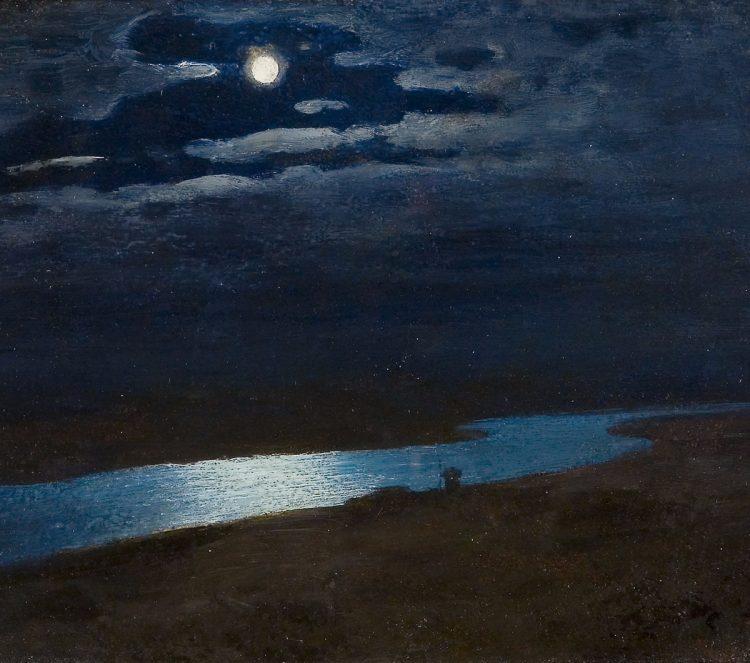 Куинджи, картины, Ночь на Днепре