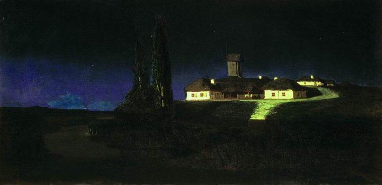 Куинджи, картины, Украинская ночь