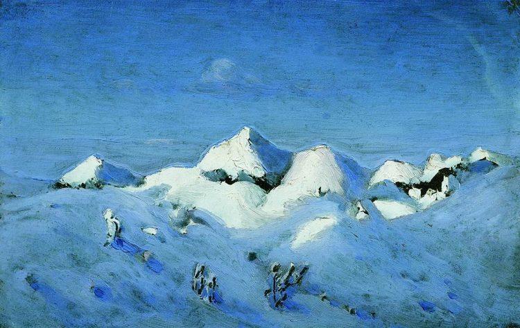 Куинджи, картины, Зима