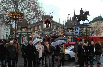 Германия зимой, Кельн, рождественская ярмарка Кельн