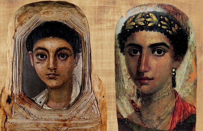 Картины человечества, фаюмские портреты