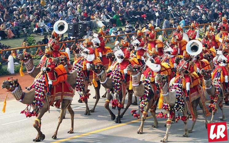 фишки дня - 26 января, парад в Дели, день республики Индия