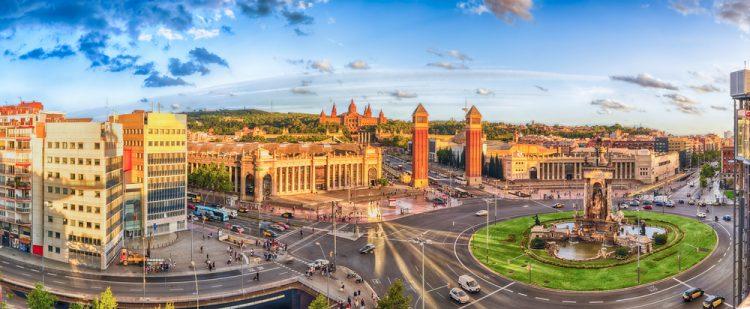 Барселона, центр, площадь