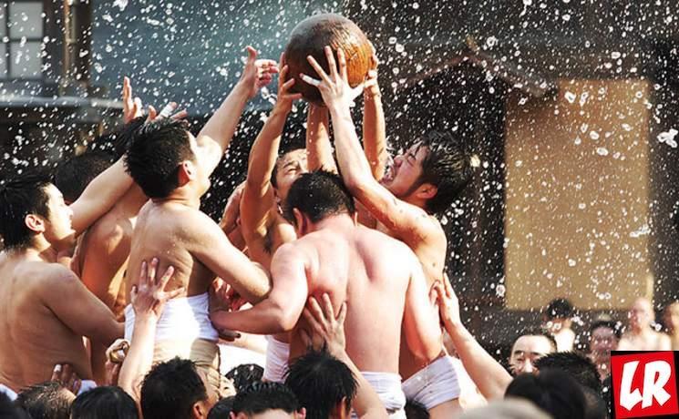 фишки дня - 3 января, фестиваль Тамасесери Япония