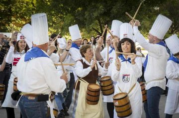 фишки дня, тамборрада, Испания фестивали