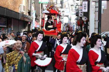 фишки дня, фестиваль Току Эбису Япония