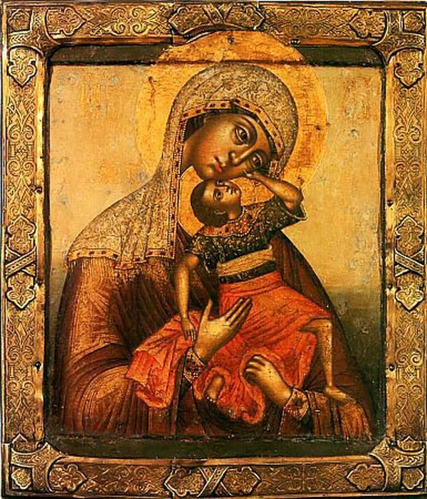 Молитвы о детях, икона взыграние младенца, иконы рождества