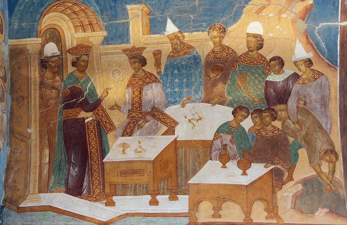 притча о званых и избранных, праздник трех святых