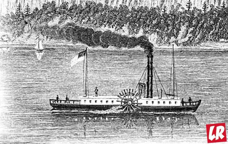 фишки дня - 11 февраля, день рождения парохода, пароход Роберта Фултона