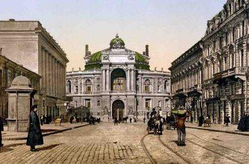 фишки дня, открытие Одесской оперы, одесский оперный театр