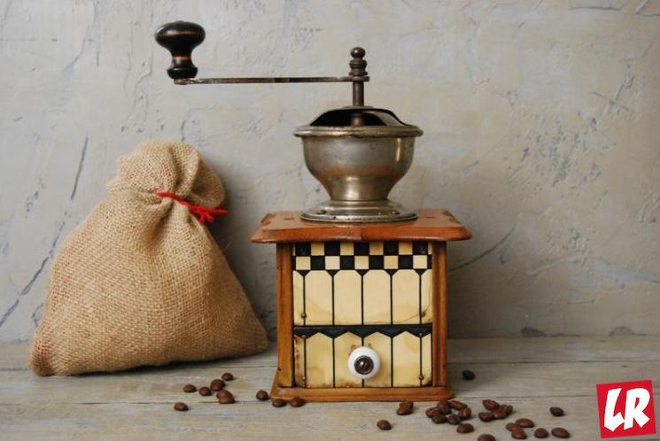 фишки дня - 3 апреля, день изобретения кофемолки, старые кофемолки