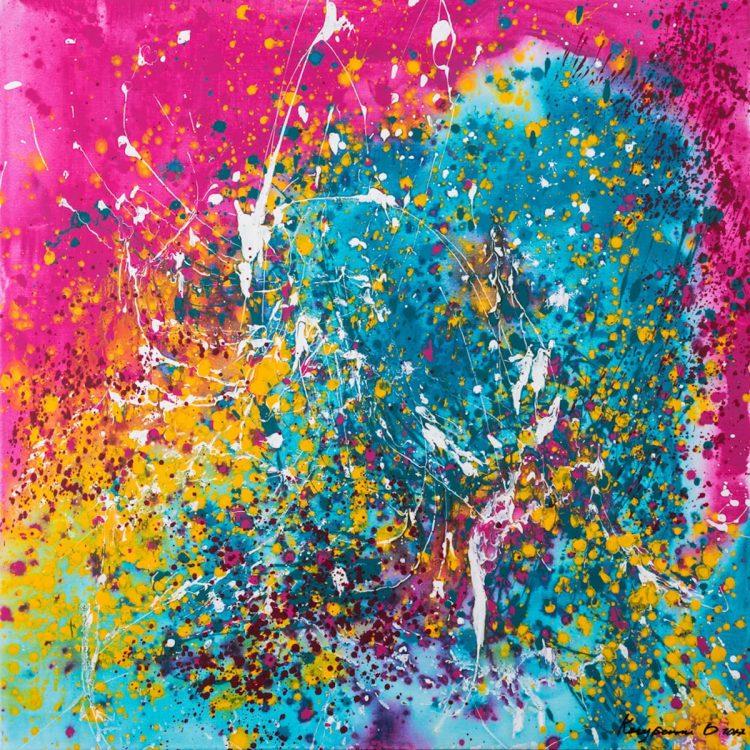 Ольга Кондрацкая, река жизни, выставка, Нью-Йорк, ООН, украинская художница, искусство, красота