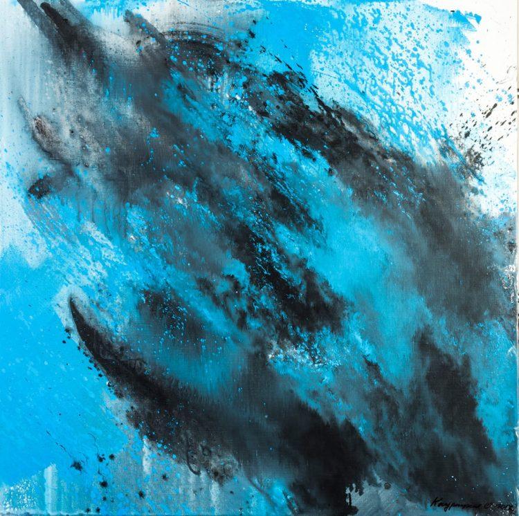 Ольга Кондрацкая, река жизни, выставка, Нью-Йорк, ООН, украинская художница, искусство