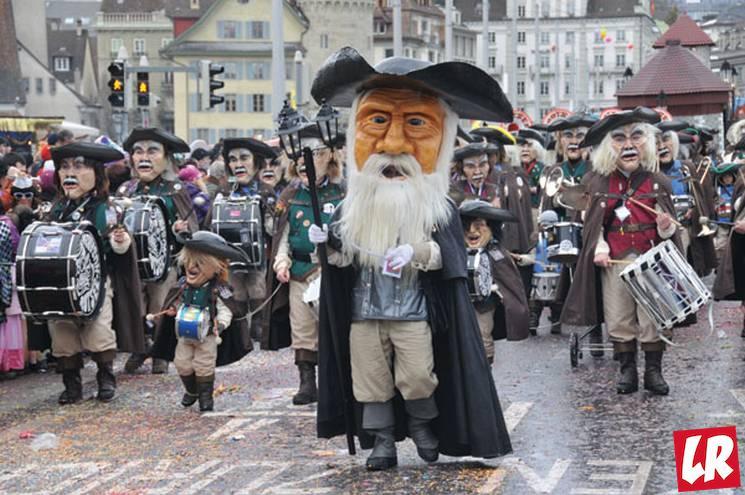 фишки дня - 7 марта, Бернский карнавал