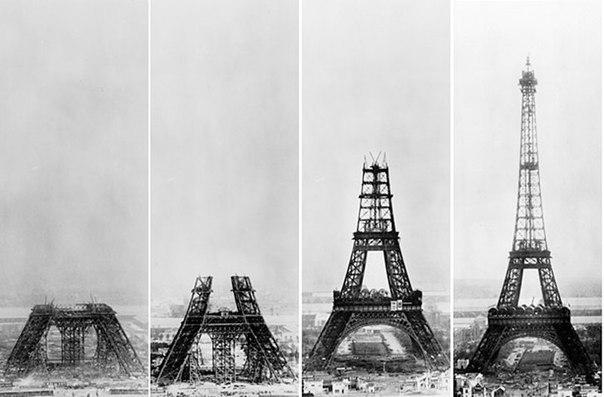 Эйфелева башня, этапы строительства