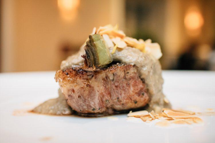 Мясо с артишоком, рецепт, тендерлоин