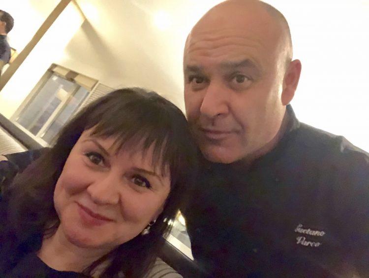 шеф-повар Гаэтано Варко, селфи, Ольга Гук