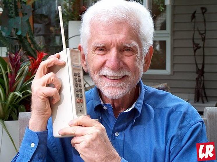 фишки дня - 3 апреля, день рождения мобильного телефона, Мартин Купер