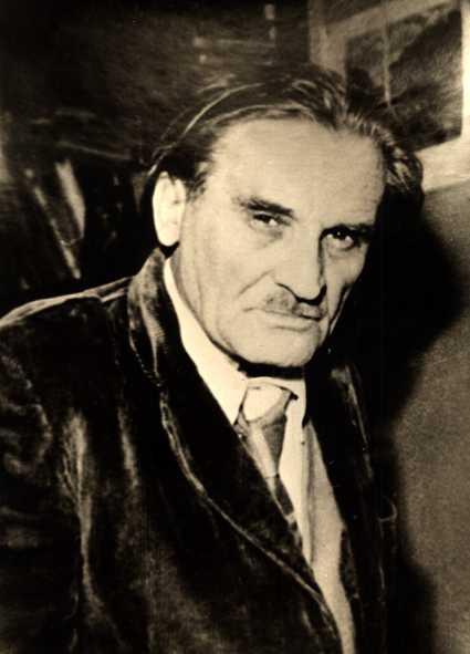 Юрий Олеша, портрет, Олеша в пожилом возрасте