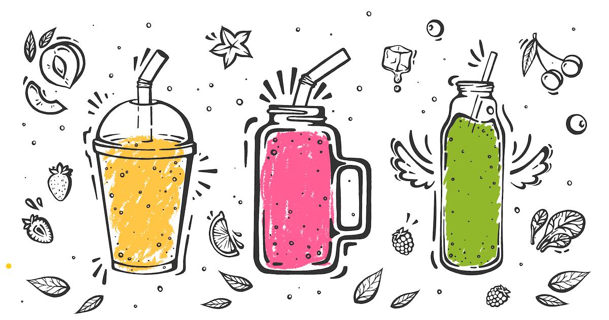 5 лучших рецептов смузи – от нута до конопли