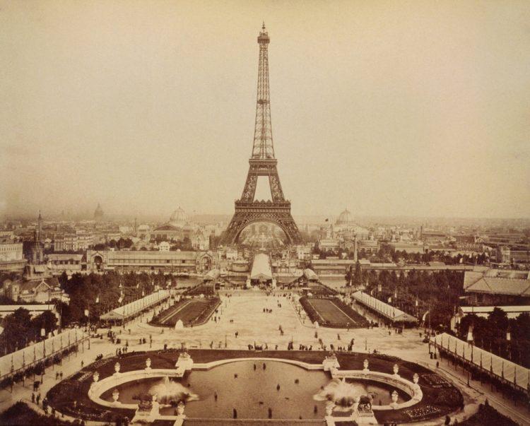 Эйфелева башня, Выставка 1889 в Париже