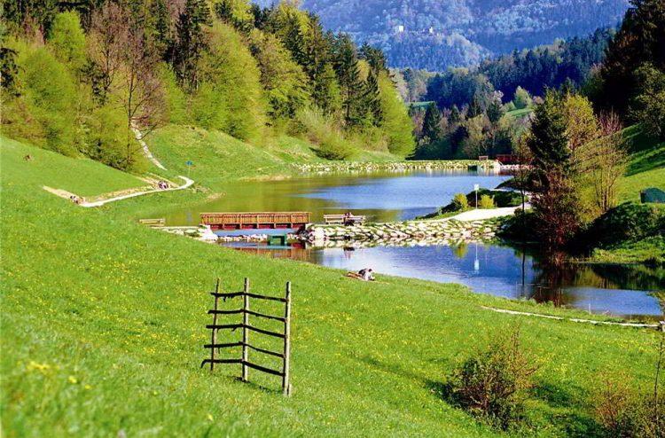 лечение в Словении, озеро