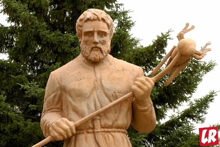 фишки дня - 16 марта, день святого Урхо, памятник святого Урхо