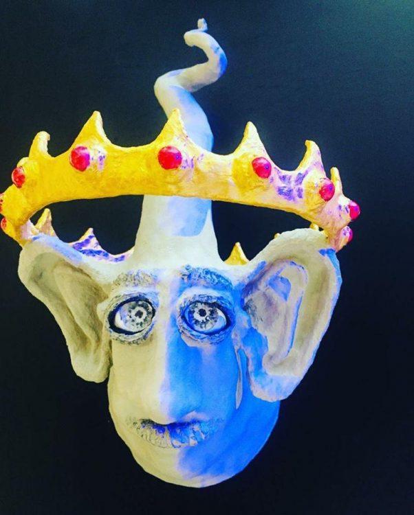 Маска карнавальная венецианская, маски, политика, король