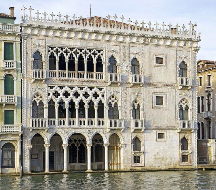Золотой дворец, Венеция, Мария Тальони, балет, подарок, граф Трубецкой