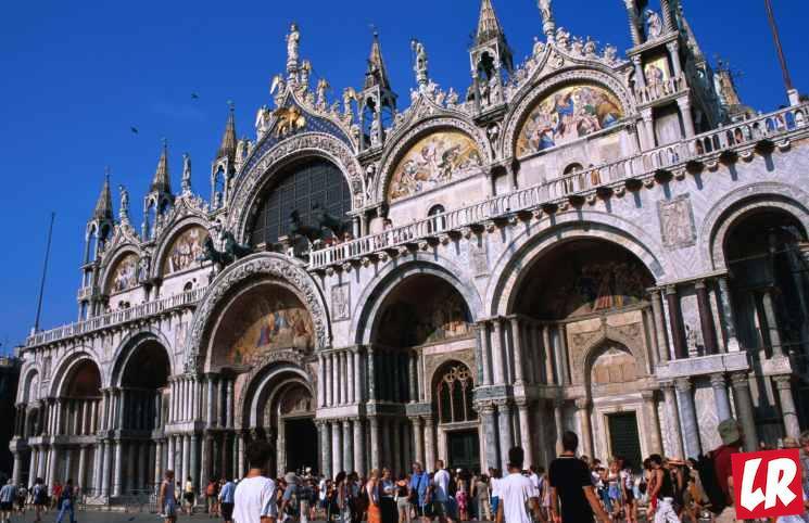 фишки дня - 25 апреля, базилика святого Марка Венеция