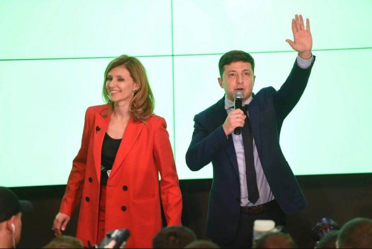 Елена Зеленская, Владимир Зеленский, Жена Зеленского, победа на выборах