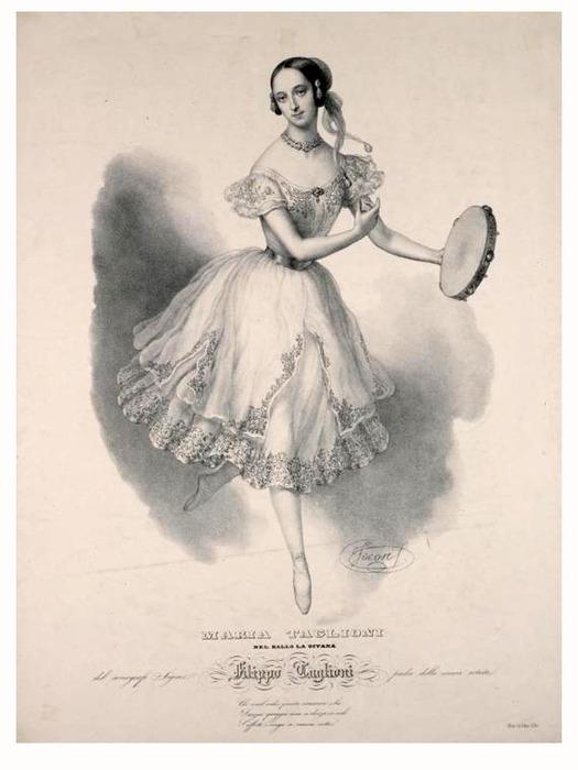 тальони, мама балетной пачки, бубен