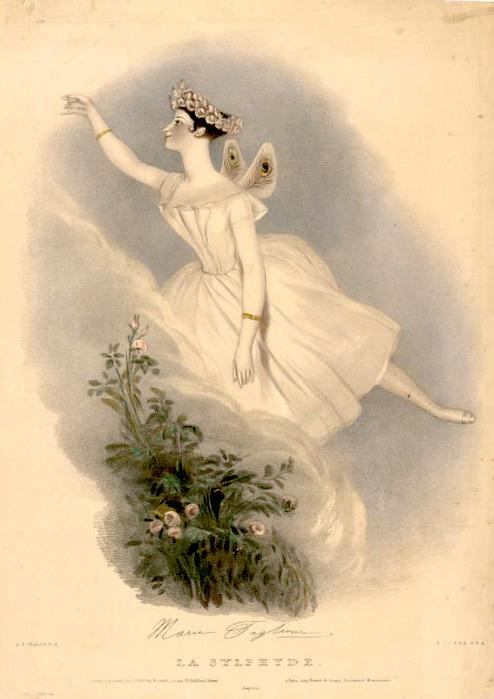 Мария Тальони, мама балетной пачки, пуанты