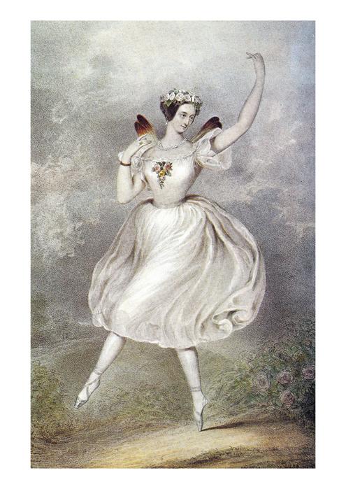 Мария Тальони, мама балетной пачки, пуанты, танец, балет