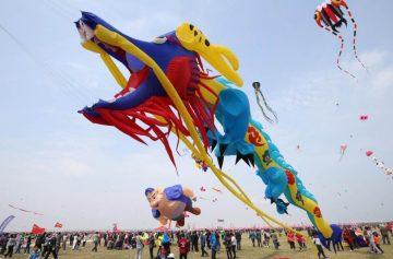 фишки дня, фестиваль воздушных змеев Китай