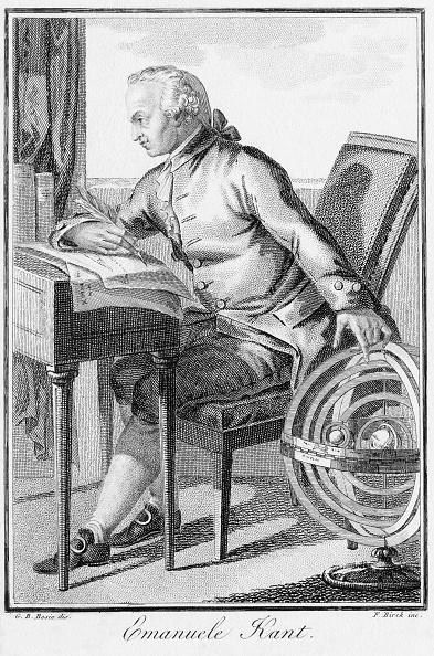 Кант, Иммануил Кант, работа, философ, биография, гравюра