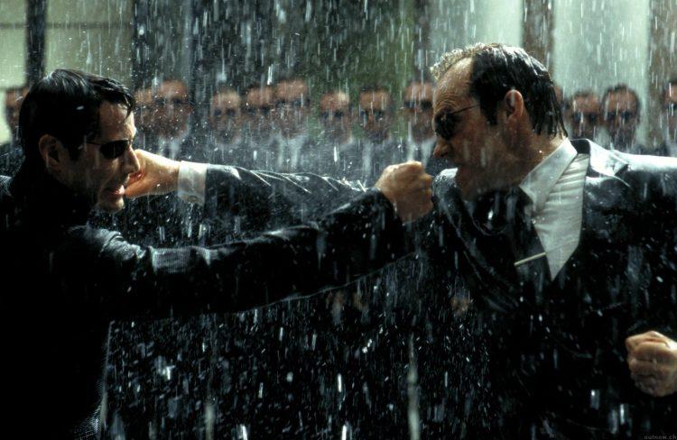 матрица, кадр из фильма, Агент Смит