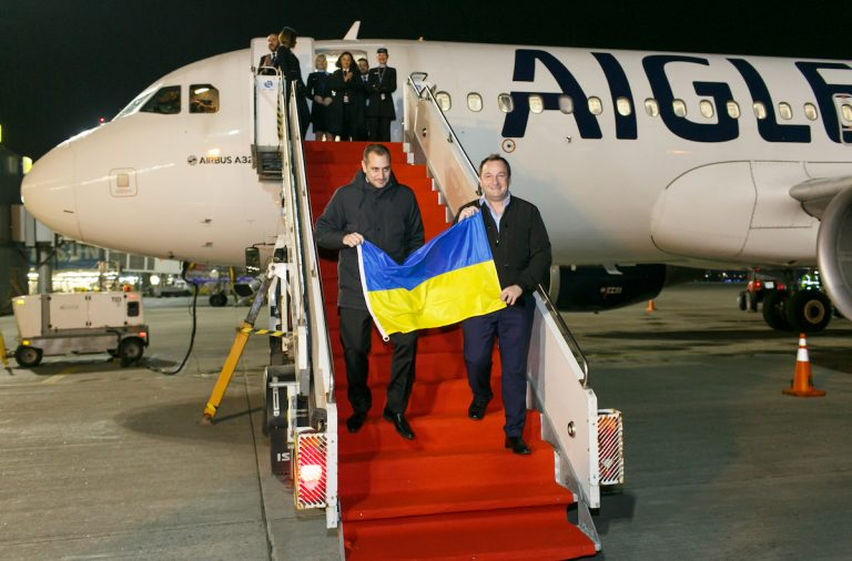 авиакомпания Франции, Киев, Aigle Azur