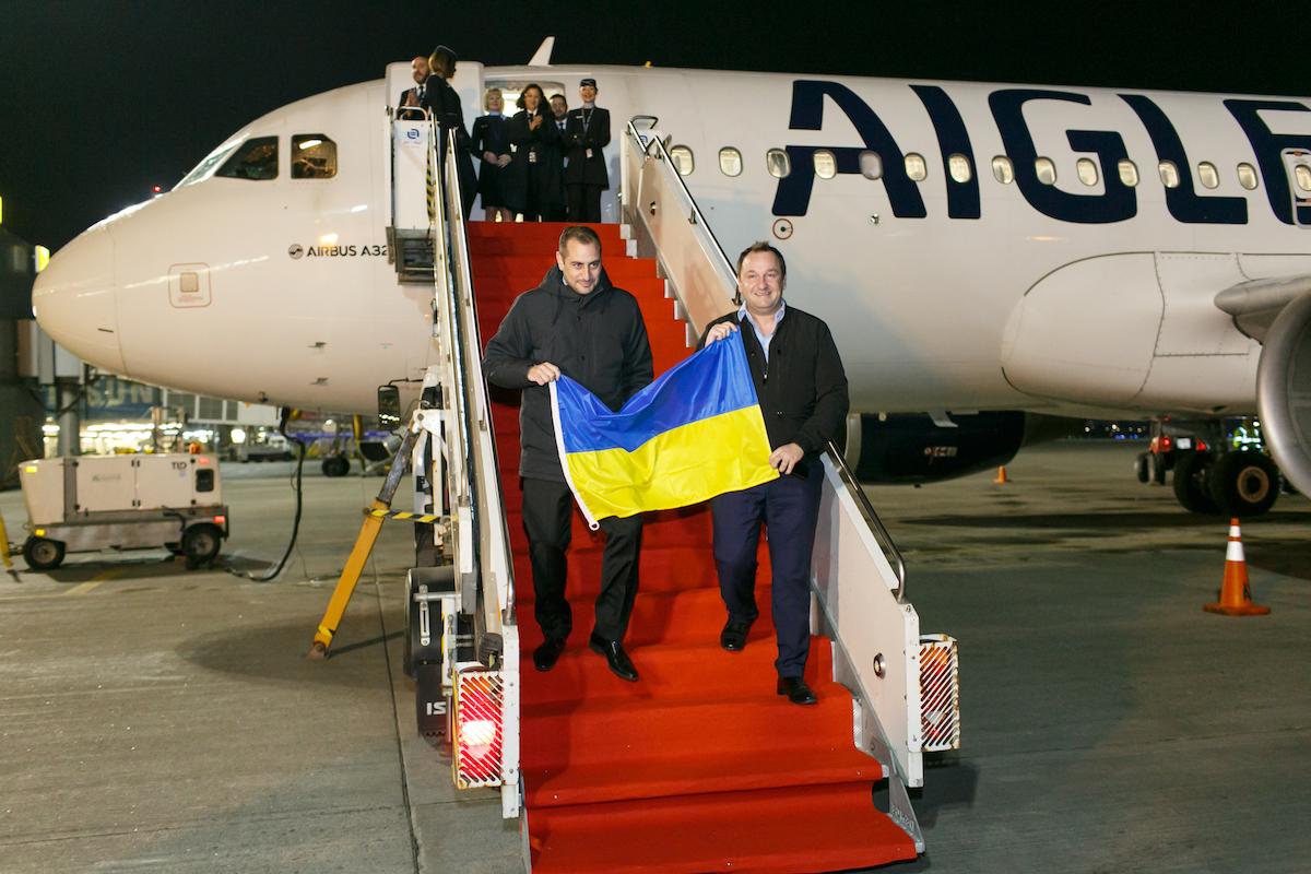 Авиакомпания Aigle Azur в Украине – первый рейс и большие планы