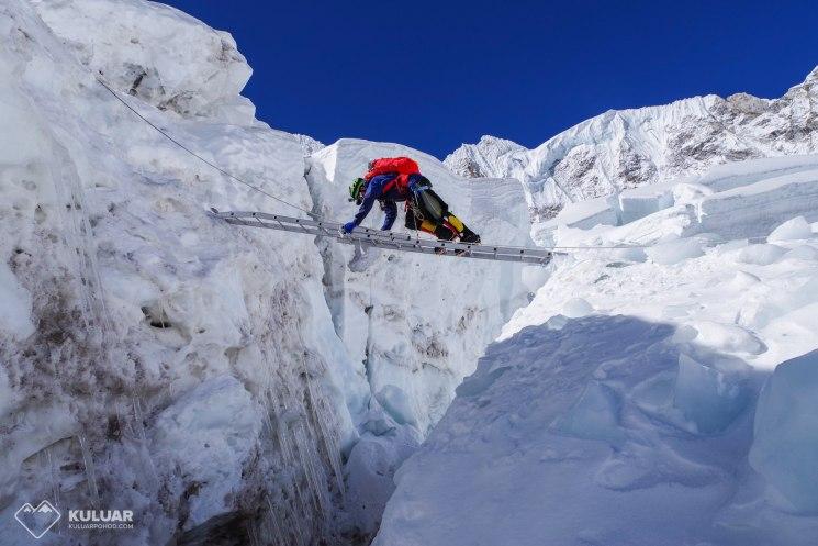 походы в горы, ледопад Кхумбу