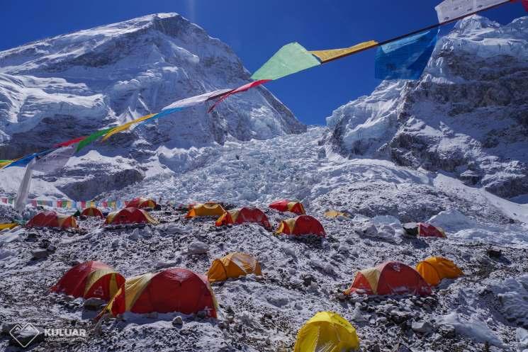 походы в горы, базовый лагерь Эвереста