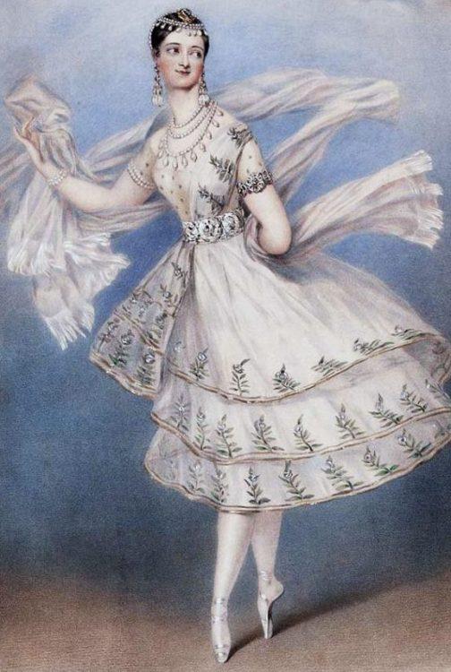 мария тальони, мама балетной пачки