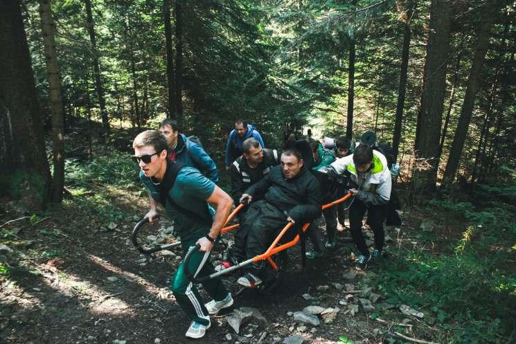 походы в горы, Иван Маслюк, On 3 wheels