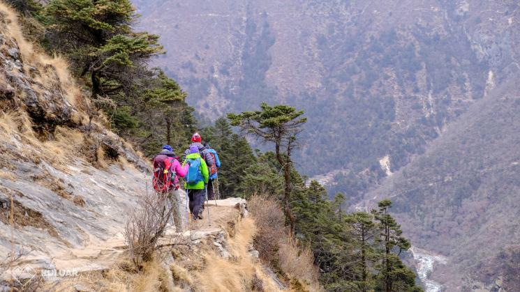 походы в горы, перевал Чо Ла, озера Гокио