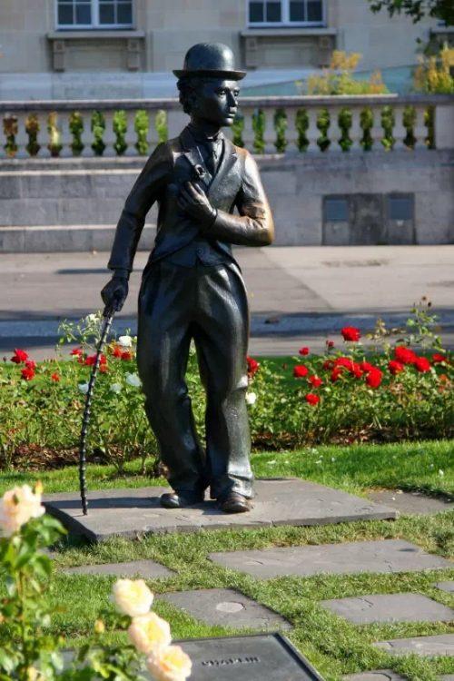 памятник, Чарли Чаплин, сын, интервью, Одесса