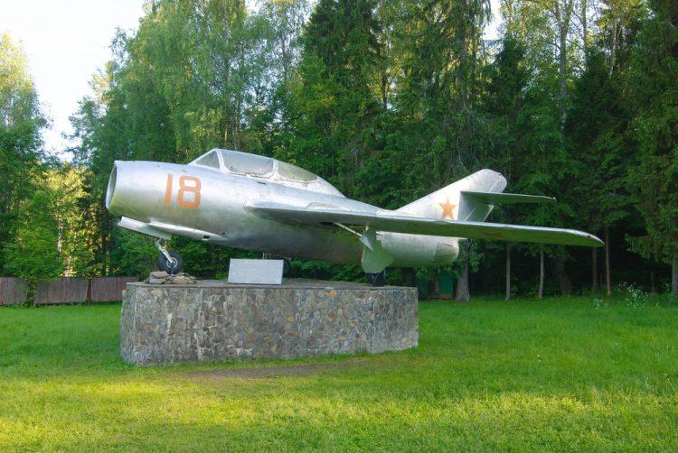 Гагарин, самолет, Миг-15