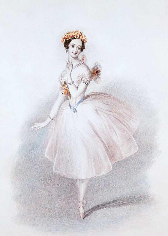 тальони, мама балетной пачки, первая надела пуанты