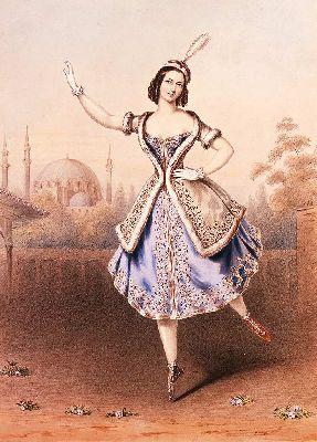балет, тальони, мама балетной пачки