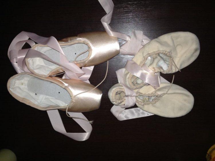 балет, пуанты