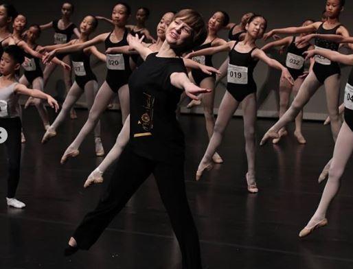 балет, урок, ученики